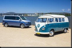 The 67 Kombi and the Multivan Generation Six