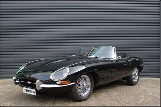 Jaguar E-type 3.8 Series 1 Convertible