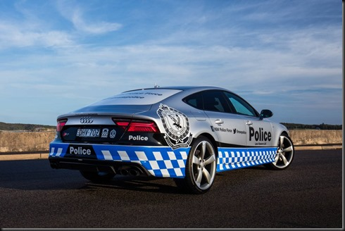 Audi S7 Sportback commences duty for the NSW Police Force (2)
