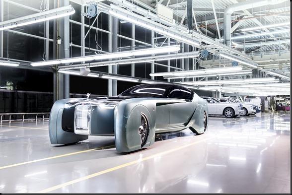 Rolls-Royce Vision concept, Goodwood  Photo: James Lipman / jameslipman.com
