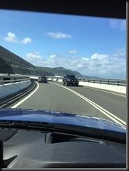 BMW 430i GranCoupe on the Sea Cliff Bridge NSW
