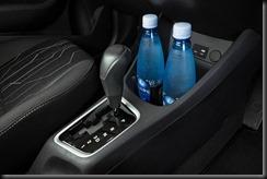 2016 Kia Picanto interior detail, cupholders.
