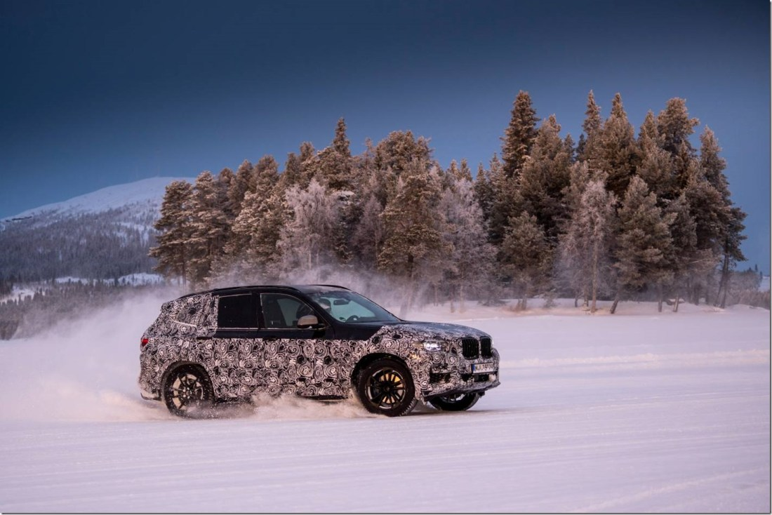 new-BMW-X3-undergoes-winter-testing