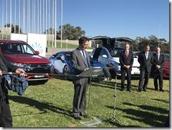 Mitsubishi- CEO- Mutsuhito- Oshikiri-and-vehicle-lobby-group-launch-1