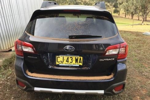 Subaru Outback 2.5i Premium rear
