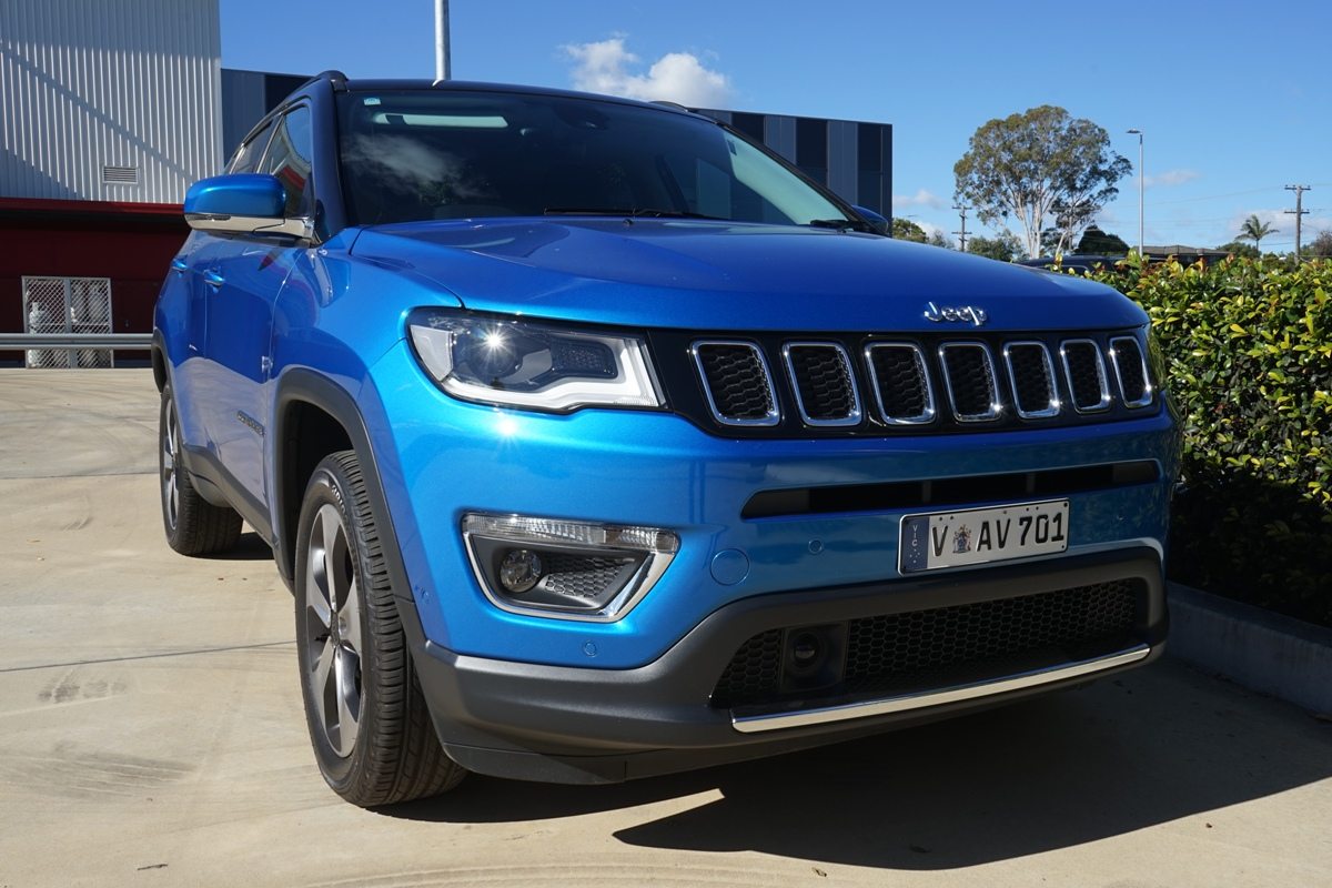 2018 Jeep Compass Limited Front