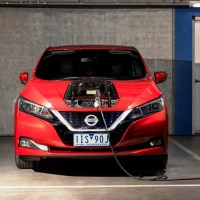 Nissan Leaf to Power ACT