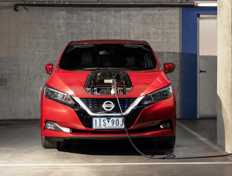Nissan Leaf Charging Australia