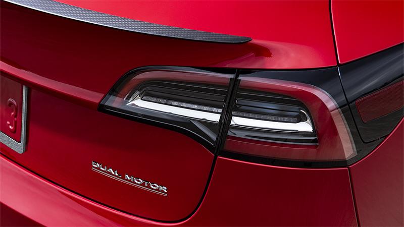 Model 3 Performance - Dual Motor Badge copy