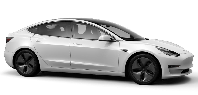 Tesla Pearl White Multi-Coat