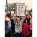 This is My Supergirl - Melissa Benoist at Women's March on Washington