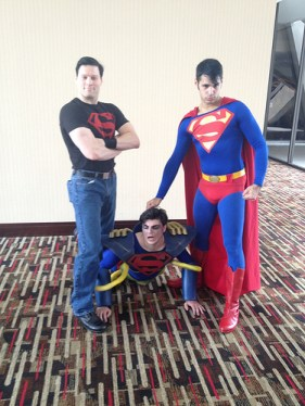 Superboy Superboy Prime and Superman