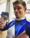BS Comics Cosplay Blue Ranger
