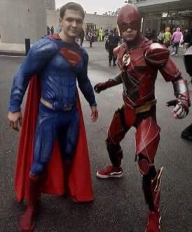 Flash and Superman