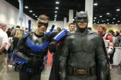 Nightwing with Bats