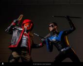 Red Hood vs Nightwing