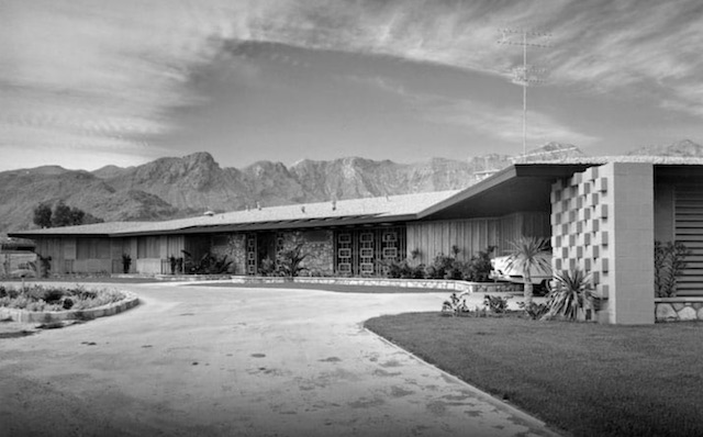 Lucille Ball Residence Rancho Mirage