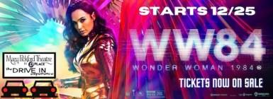 Wonder Woman 1984 Pickford Drive-In