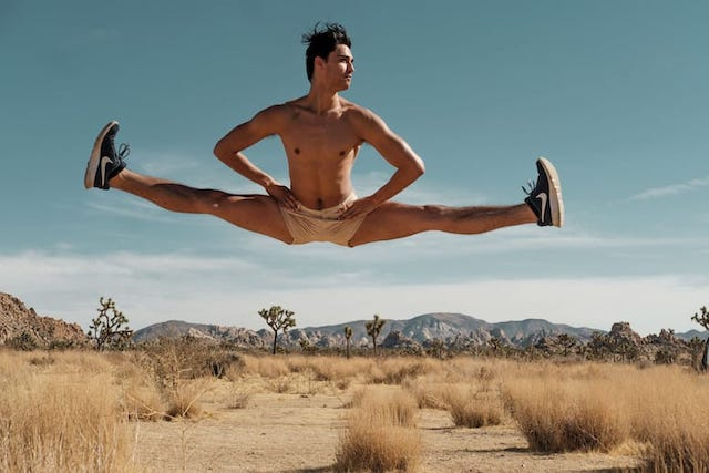Palm Springs Dance Festival Jump Split