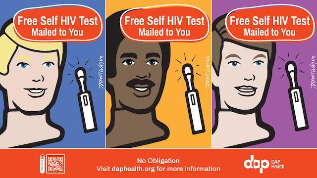 Free HIV Self Test DAP Health Trevor Wayne