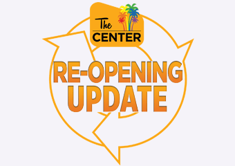 Reopening Update The Center 2021