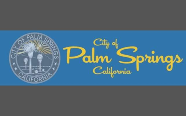 City of Palm Springs Grey Blue