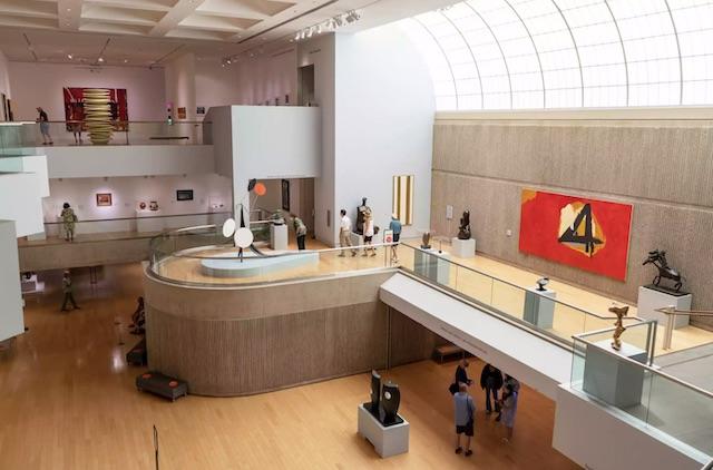 Palm Springs Art Museum Interior