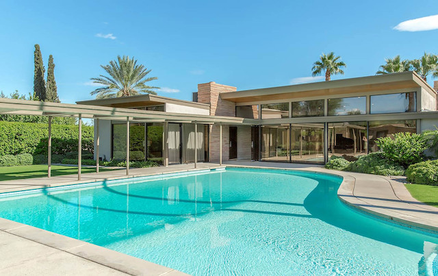 Twin Palms Sinatra Home