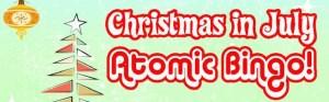 Christmas in July Atomic Bingo