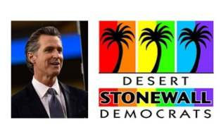 Gavin Newsom Stonewall Democrats