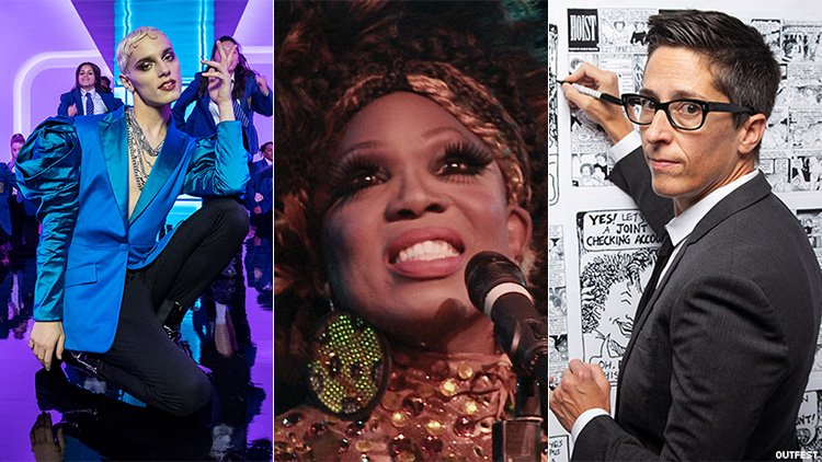 Outfest 2021 triptych