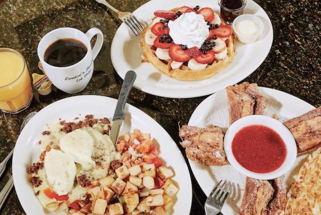 Louise Pantry Breakfast