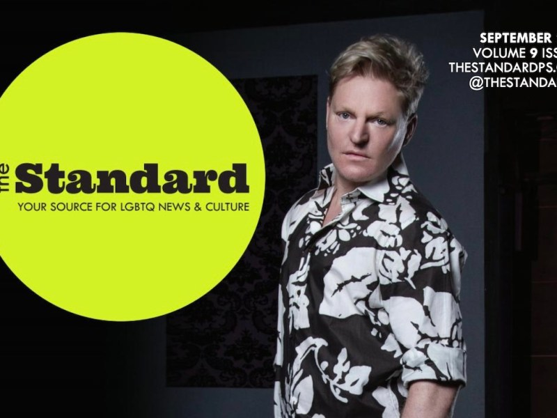 2021 September The Standard Cover Andy Bell
