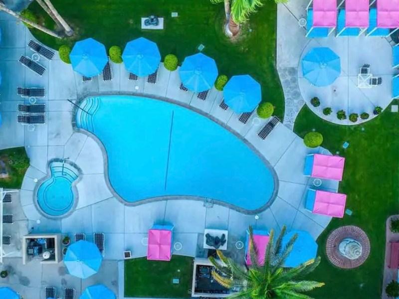 INNdulge Aerial Pool