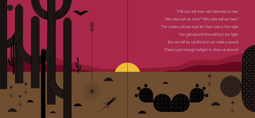 charley-harper-whats-in-the-desert-book-sunset