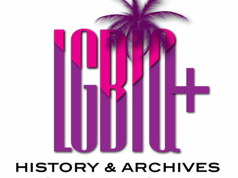 LGBTQ History Archives Desert Logo