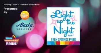 Light Up the Night Alaska Airlines