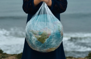 Plastic Bag Globe