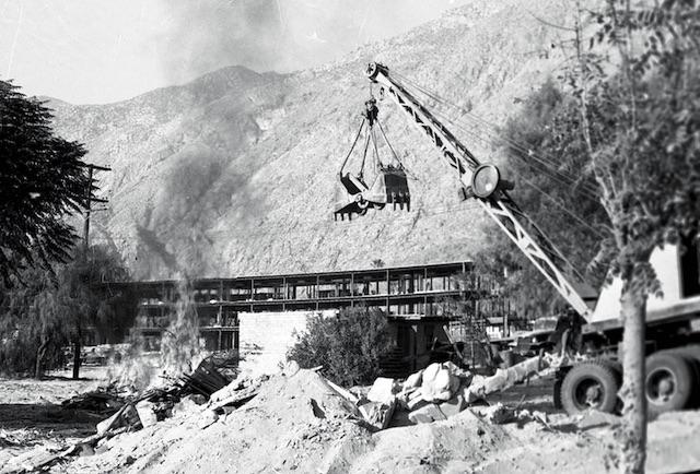 Spa Hotel Construction 1960s