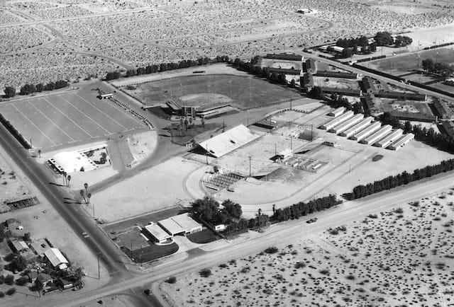 Summer Baseball Palm Springs