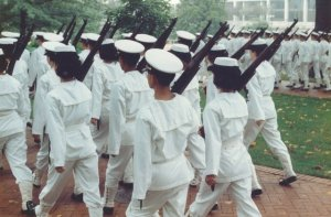 USNA Marching