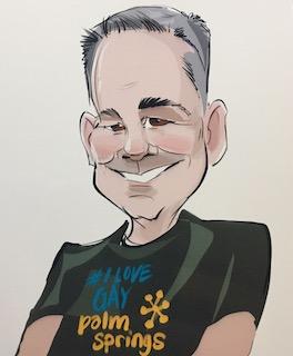 Brad Fuhr Caricature
