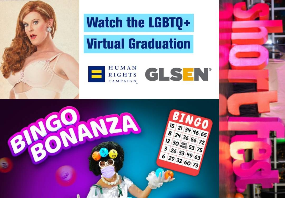 This Week in Gay Palm Springs Collage May 10 2020