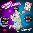 Miss Richfield 1981 Bingo Bonanza Live