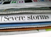 Severe storms newspaper