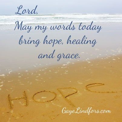 May My Words…