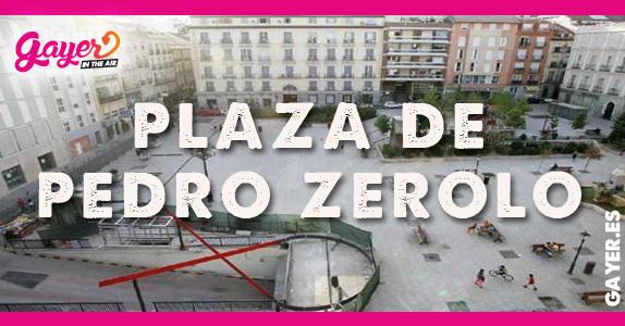 Plaza de Pedro Zerolo en Madrid