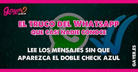 El truco del Whatsapp