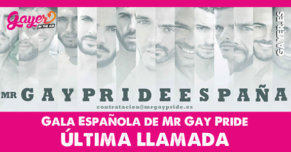 MR GAY PRIDE ESPAÑA