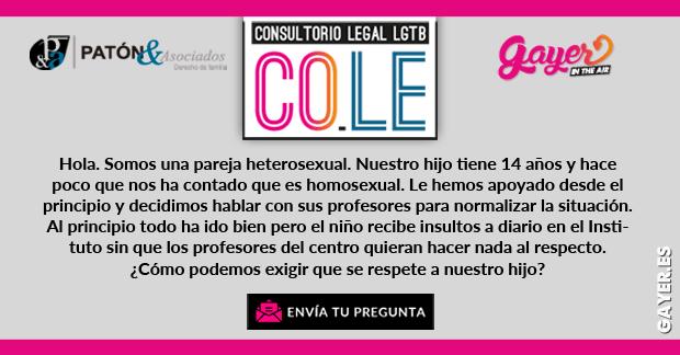 CONSULTORIO LEGAL LGTB |Bullying / Acoso Escolar